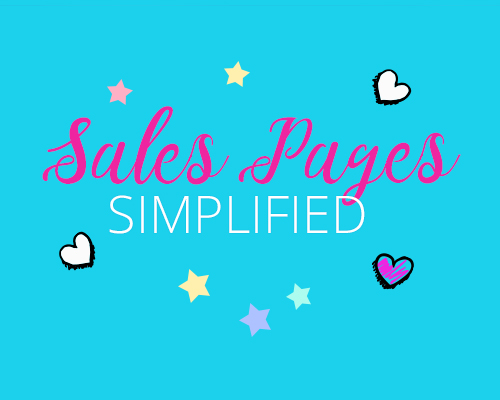 Sales Pages Simplified